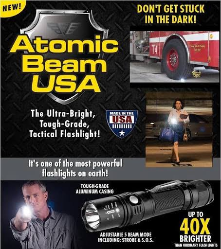 Atomic Beam Tactical Flashlight