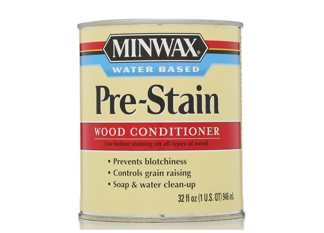 Minwax Water Based Pre-Stain Wood Conditioner - 1qt