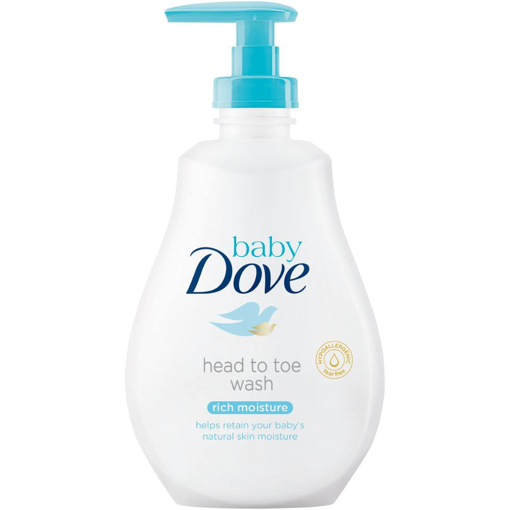 Baby Dove Rich Moisture Body Wash - 400ml