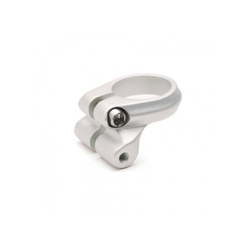 Electra Seat Clamp - With Rack Mount Silver