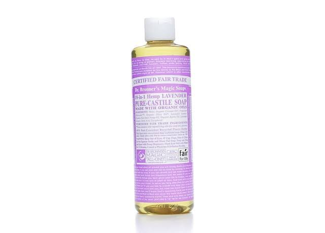 Dr. Bronner's Fair Trade & Organic Castile Liquid Soap - Lavender
