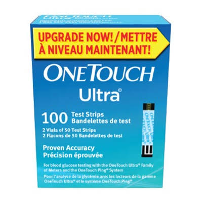 One Touch Ultra Blue Test Strips - 100ct