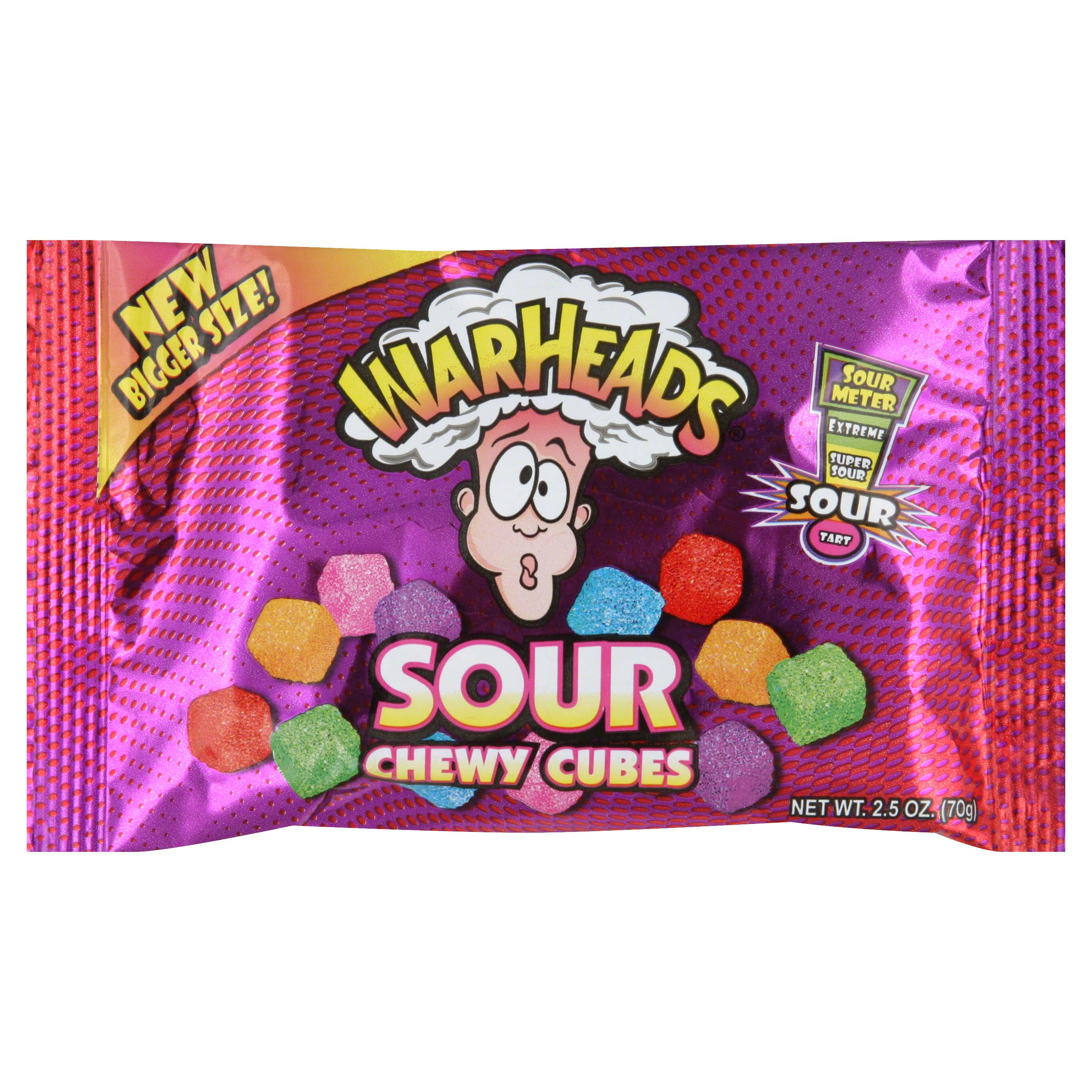 Warheads Sour Chewy Cubes 70g by Planet Candy