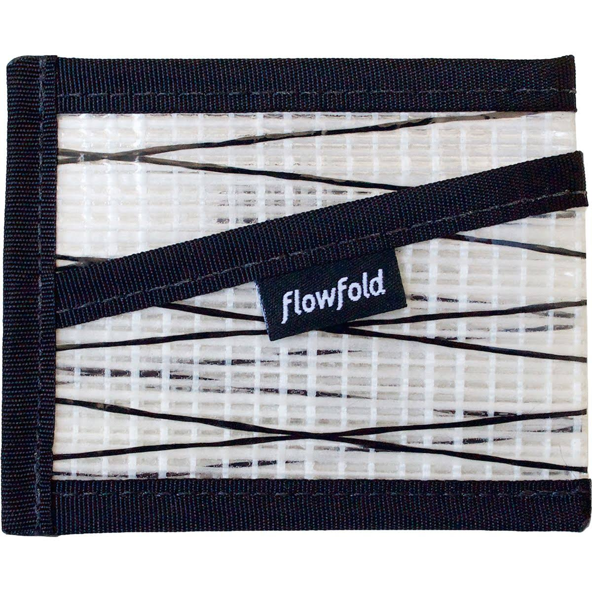 Flowfold Recycled Sailcloth Craftsman Wallet White
