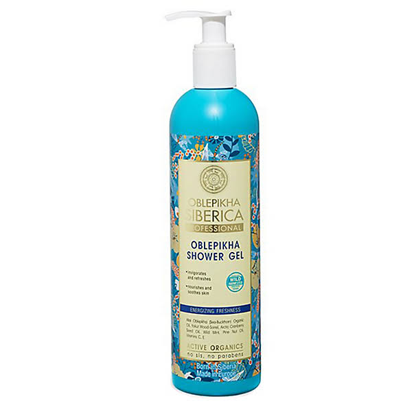 Oblepikha Shower Gel - Energizing and Freshness, 400ml