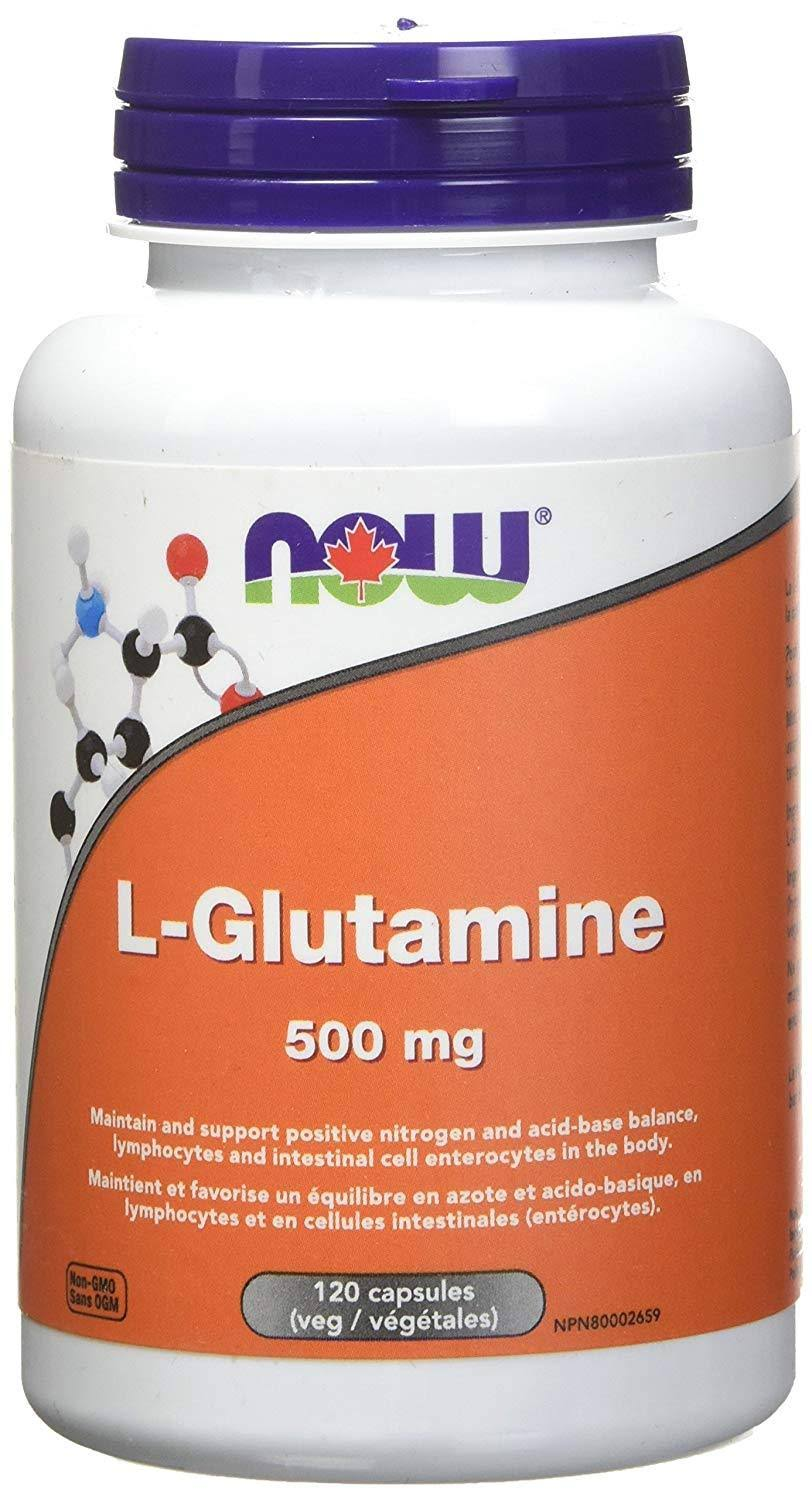 Now L-glutamine Supplement - 120ct