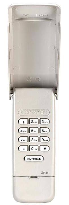 Craftsman 00903050 Garage Door Opener Wireless Keyless Entry Pad