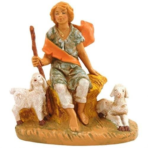 Fontanini 5 inch Scale Peter - Boy with Sheep