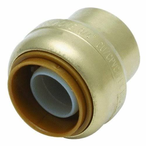 Cash Acme U518A Shark Bite Push-Fittings End Cap - 3/4""