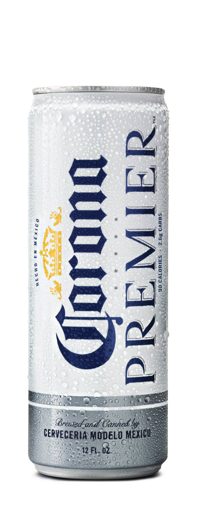 Corona Premier Mexican Import Beer, 12 fl oz Can, 4.0% Abv