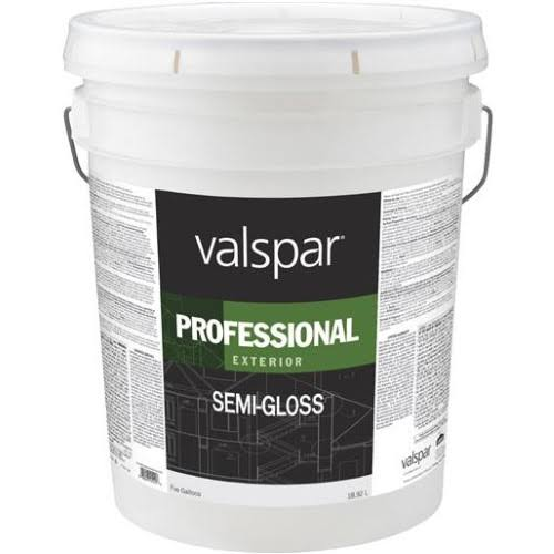 Valspar Professional Semi-Gloss Exterior Latex Paint - 5gal