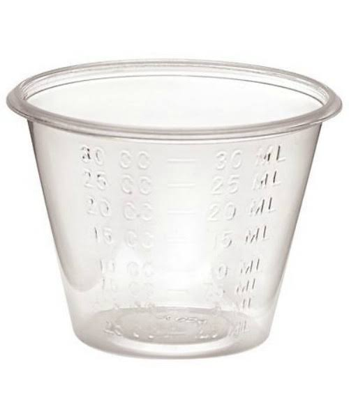 Essential Medical Medicine Cups - 1oz