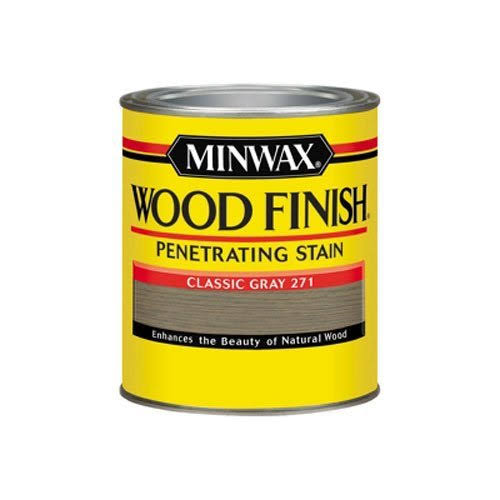 Minwax Wood Finish Oil-Based Interior Stain - Classic Gray
