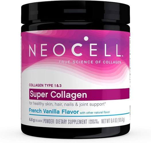 Neocell Super Collagen Powder - French Vanilla Flavor, 6600mg