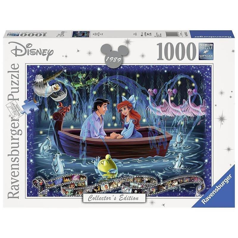 Ravensburger Disney Memories Jigsaw Puzzle - The Little Mermaid, 1000pc