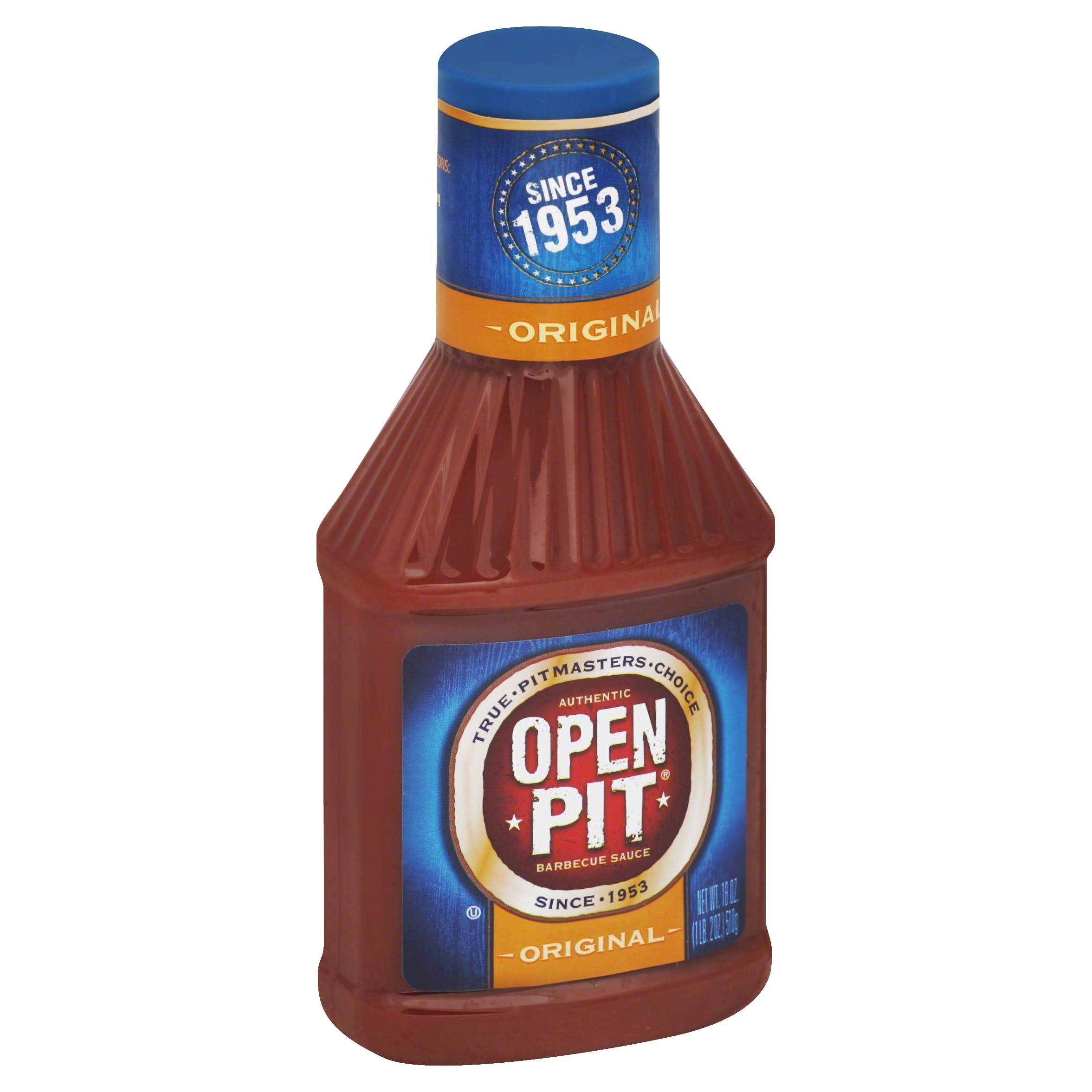Open Pit Original Barbecue Sauce - 18oz