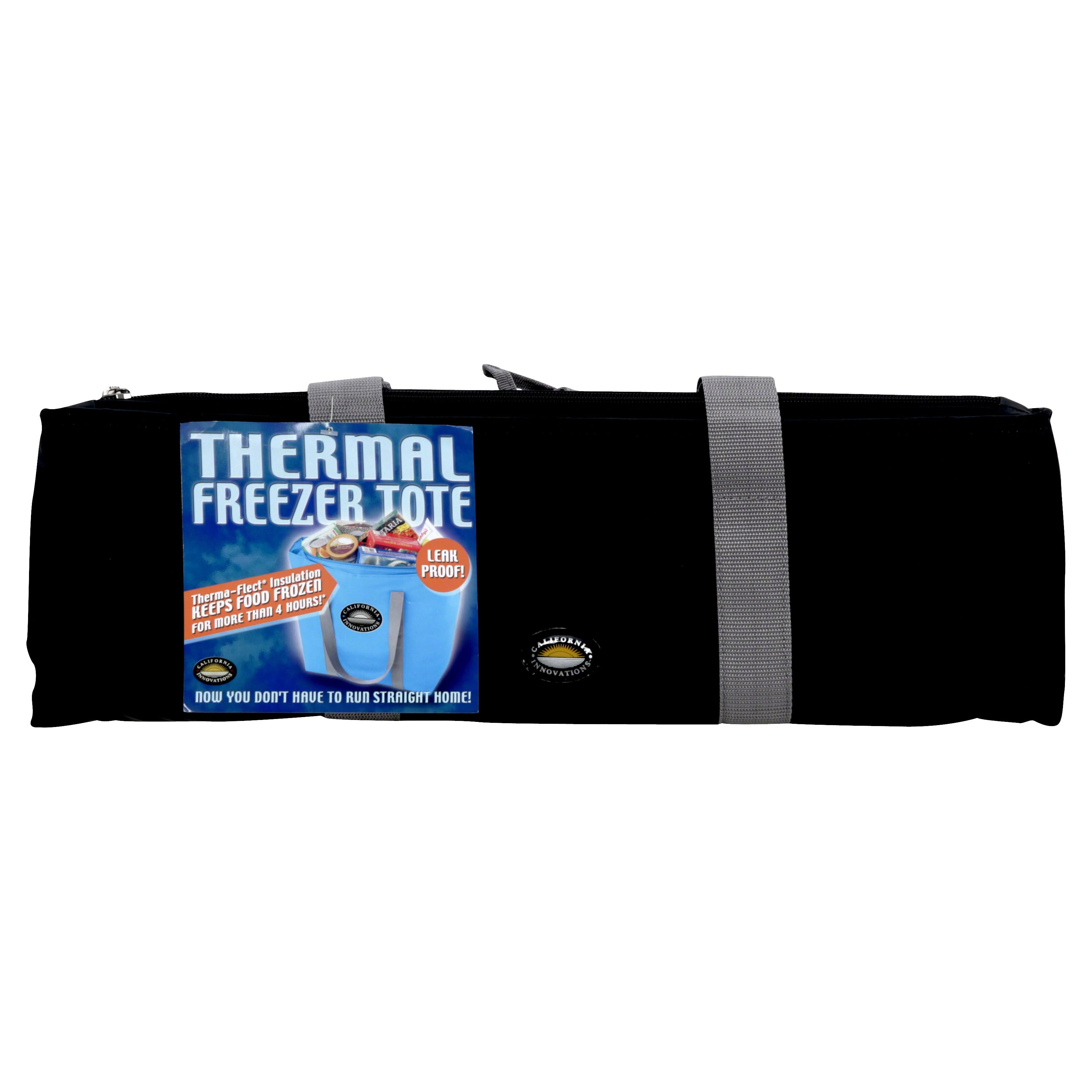 California Innovations Thermal Freezer Tote, Black
