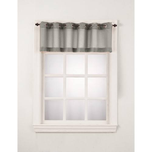 "No. 918 Montego 56"" Window Valance Color: Nickel"