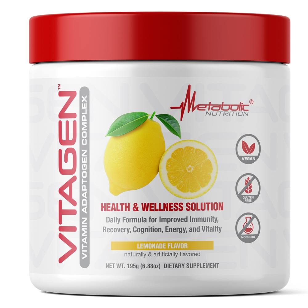 Metabolic Nutrition Vitagen 30 Servings Lemonade