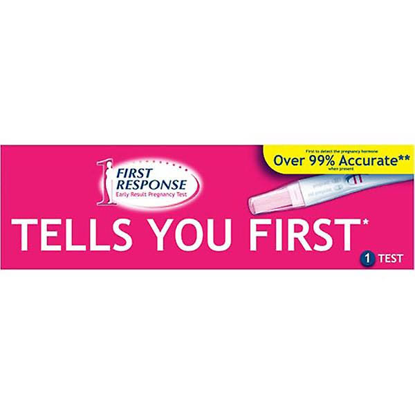 First Response - Early Result Pregnancy Test