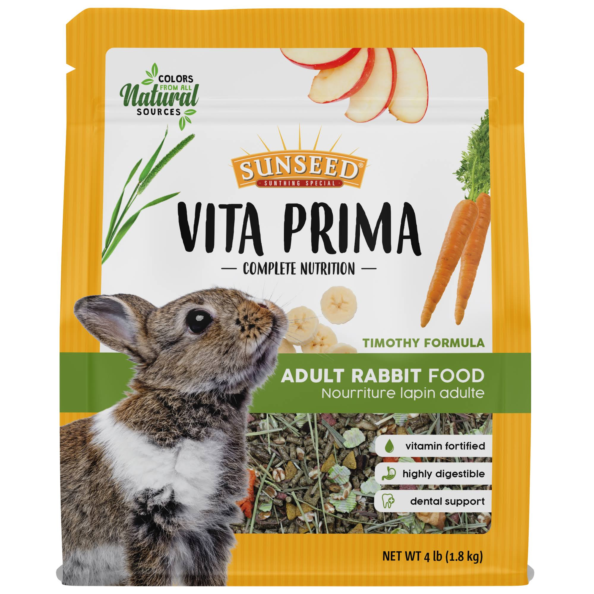 Sunseed Vita Prima Adult Rabbit - 4 lb