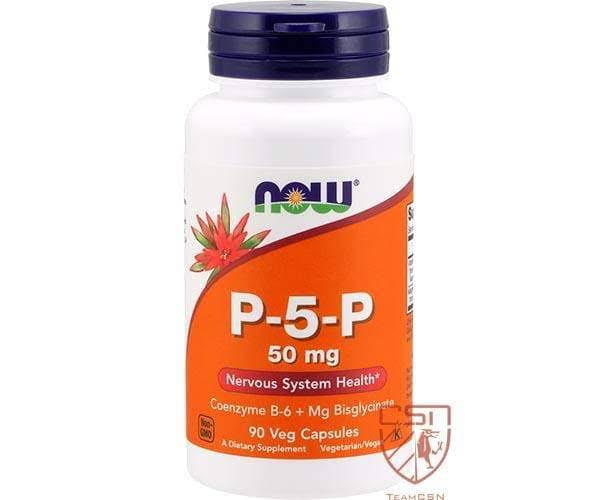 Now Foods P-5-P 50 mg - 90 Veg Capsules