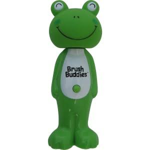 Brush Buddies Poppin' Leapin' Louie Frog Toothbrush