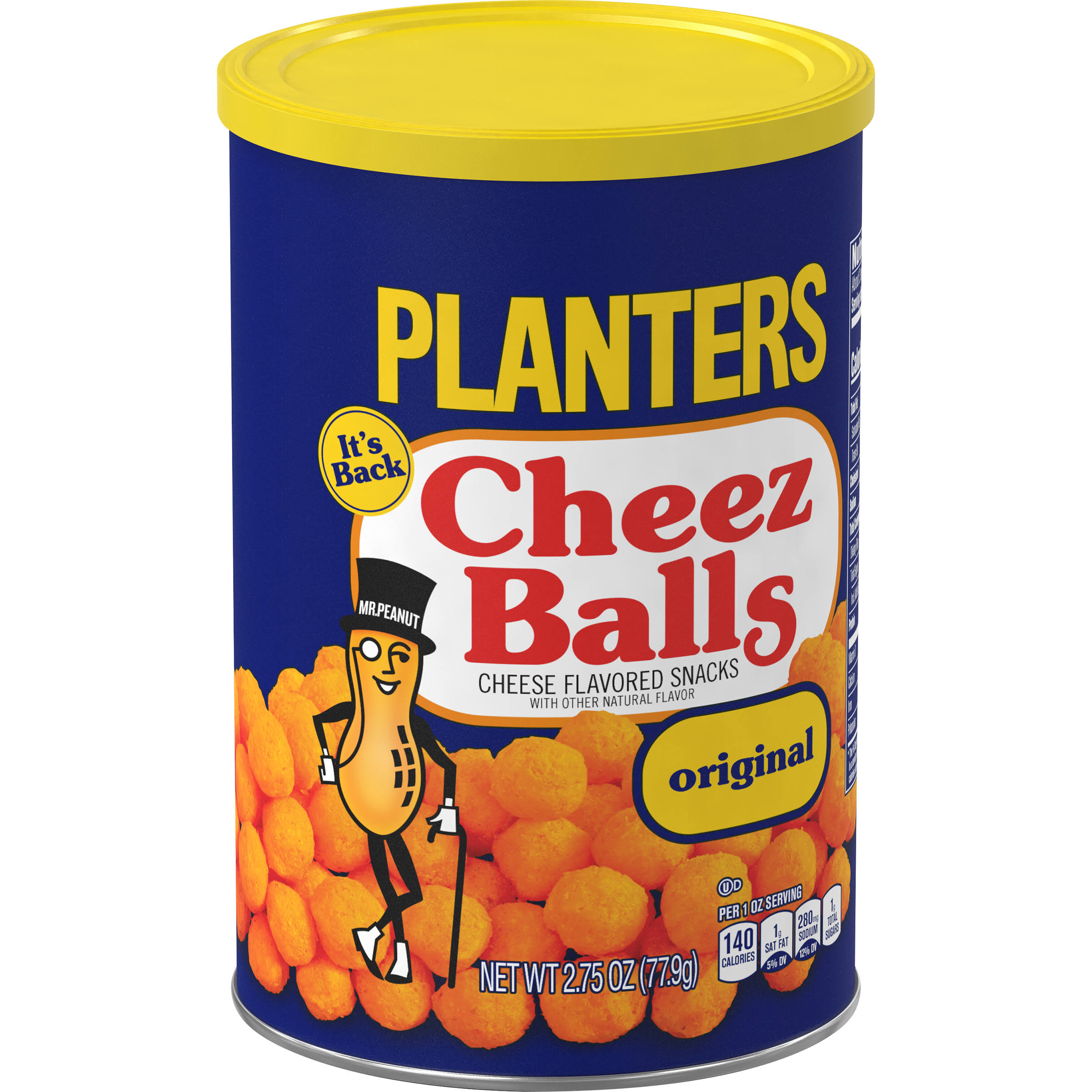 Planters Cheez Balls Cheese Flavored Snacks - 2.75oz