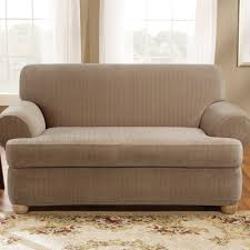Black Sofa Covers India by T Cushion Sofa Slipcover Stretch Centerfieldbar Com
