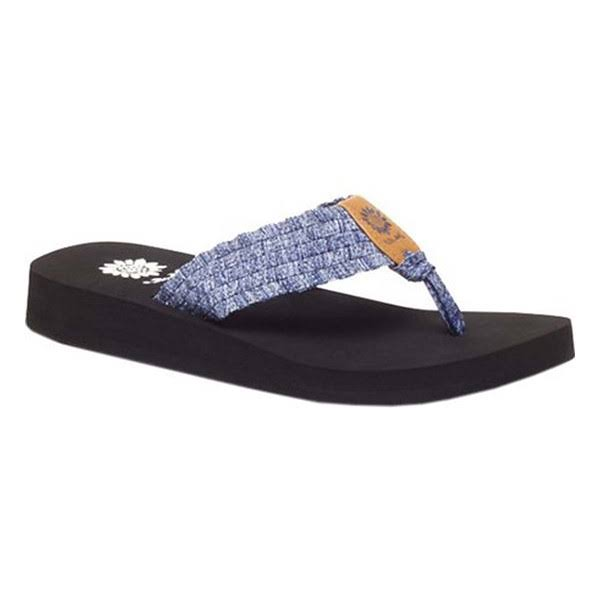 Women's Yellow Box Soleil Sandal - Blue 9