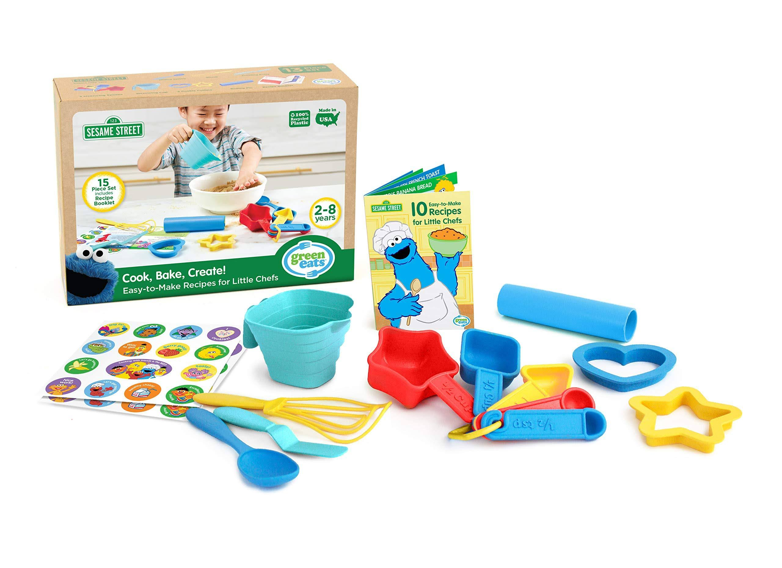 Green Toys Cook, Bake, Create Recipe Activity Set