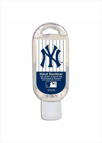 Worthy Hand Sanitizer MLB - New York Yankees