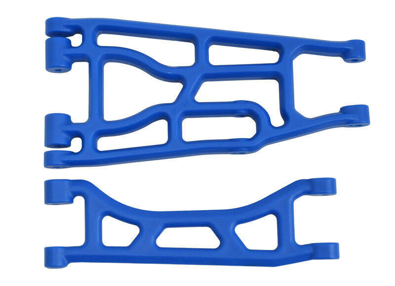 RPM Rc Products Traxxas X Upper and Lower A Arm Suspension - Blue, Pair