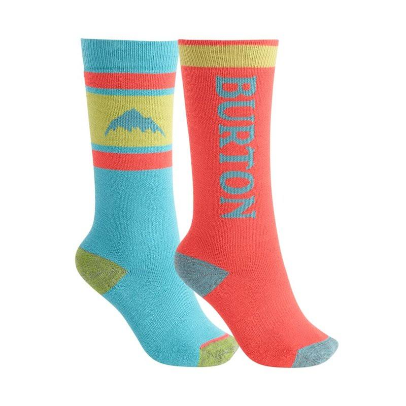 Kids' Burton Weekend Midweight Sock 2-Pack