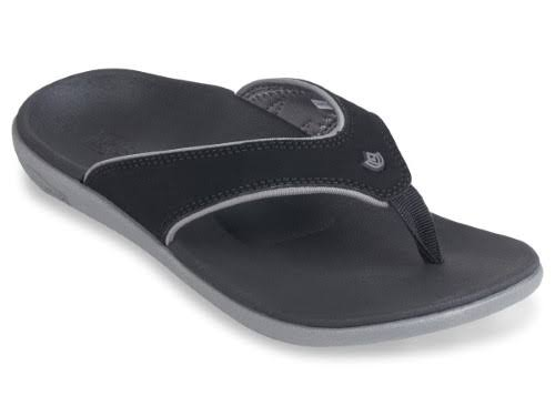 Spenco Women's Yumi Plus Sandals - Onyx, 10 USW