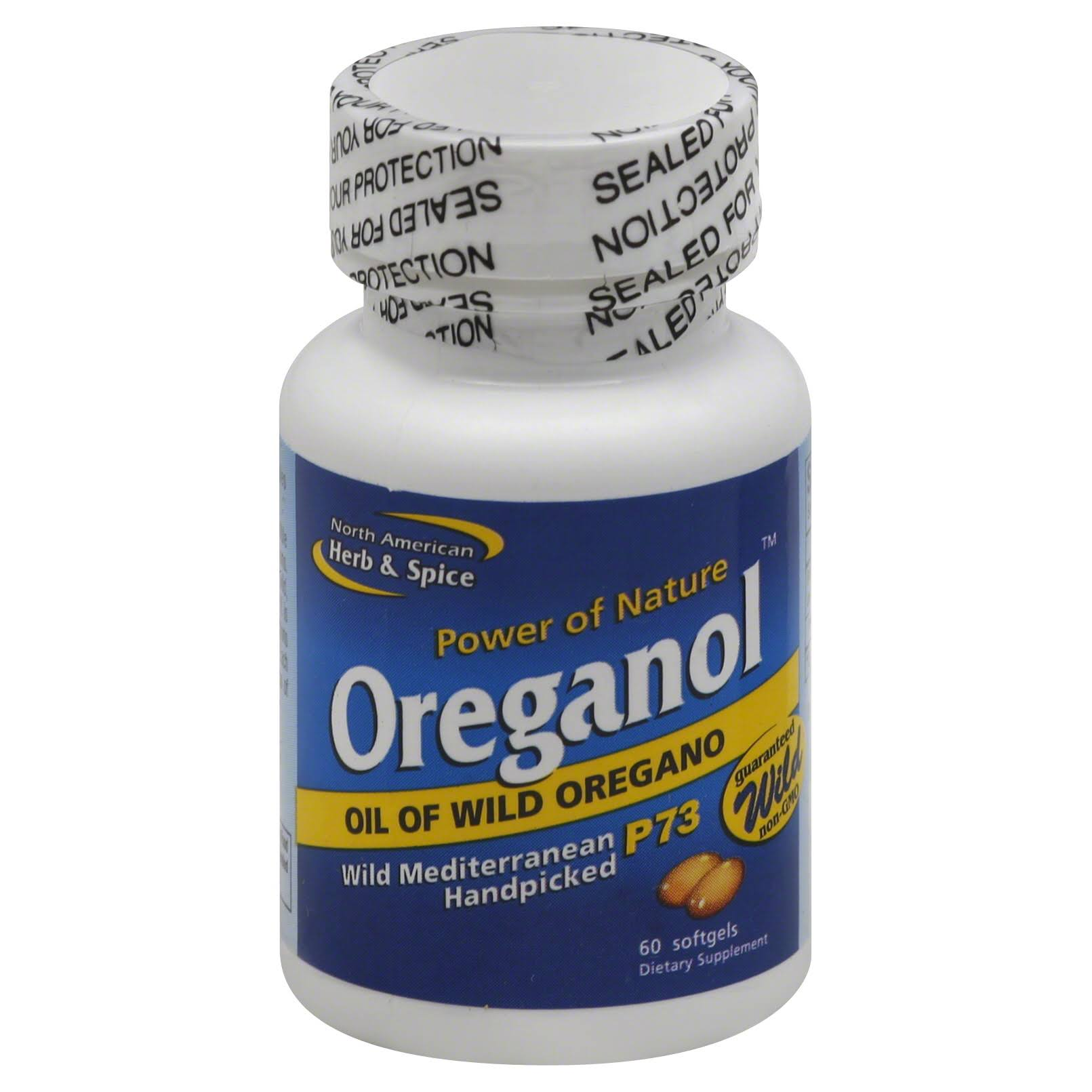 North American Herb And Spice Oreganol - 60 Softgels