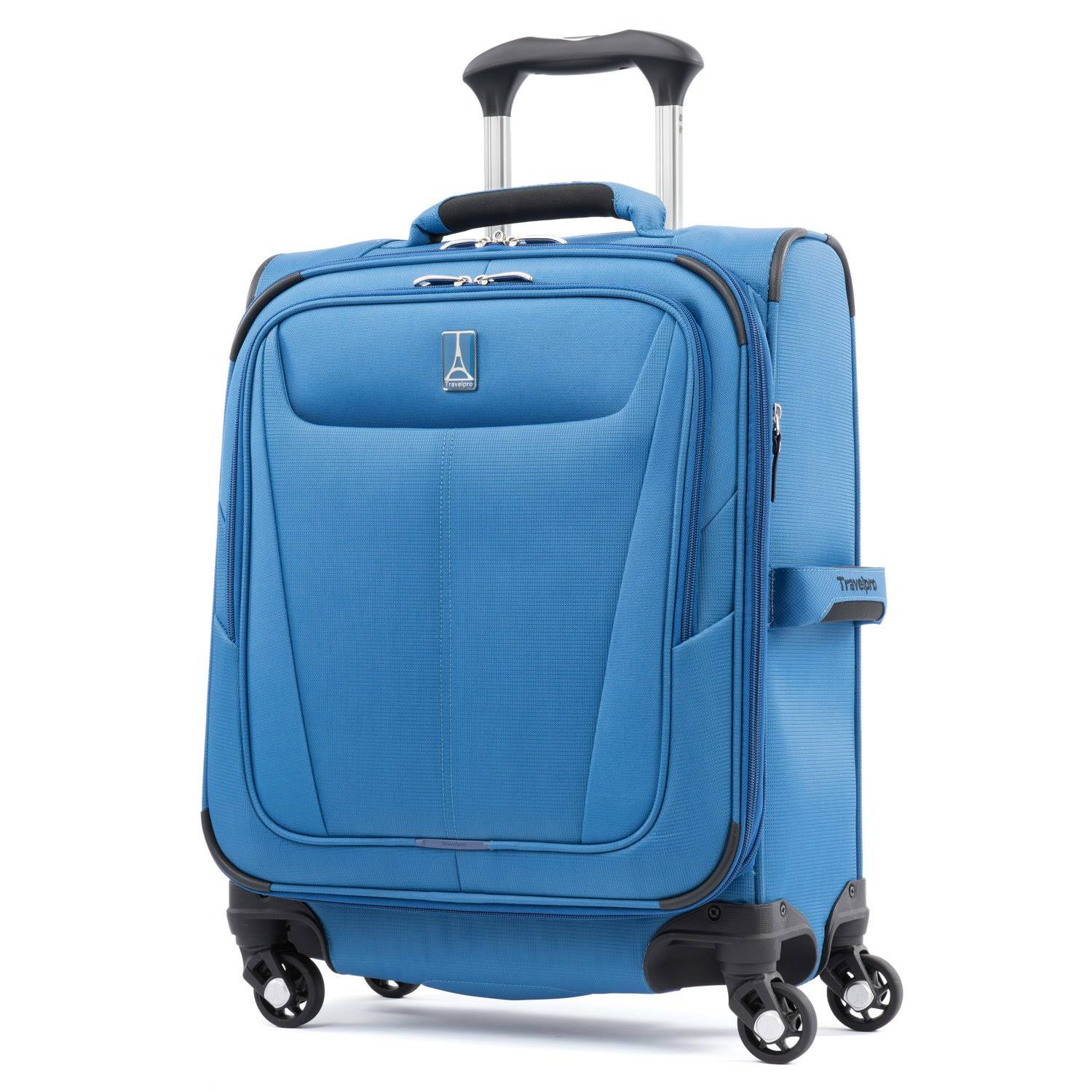 TravelPro Maxlite 5 International Expandable Carry-On Spinner - Azure Blue