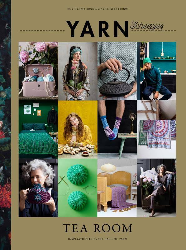 Scheepjes Yarn Bookazine #8 - Tea Room