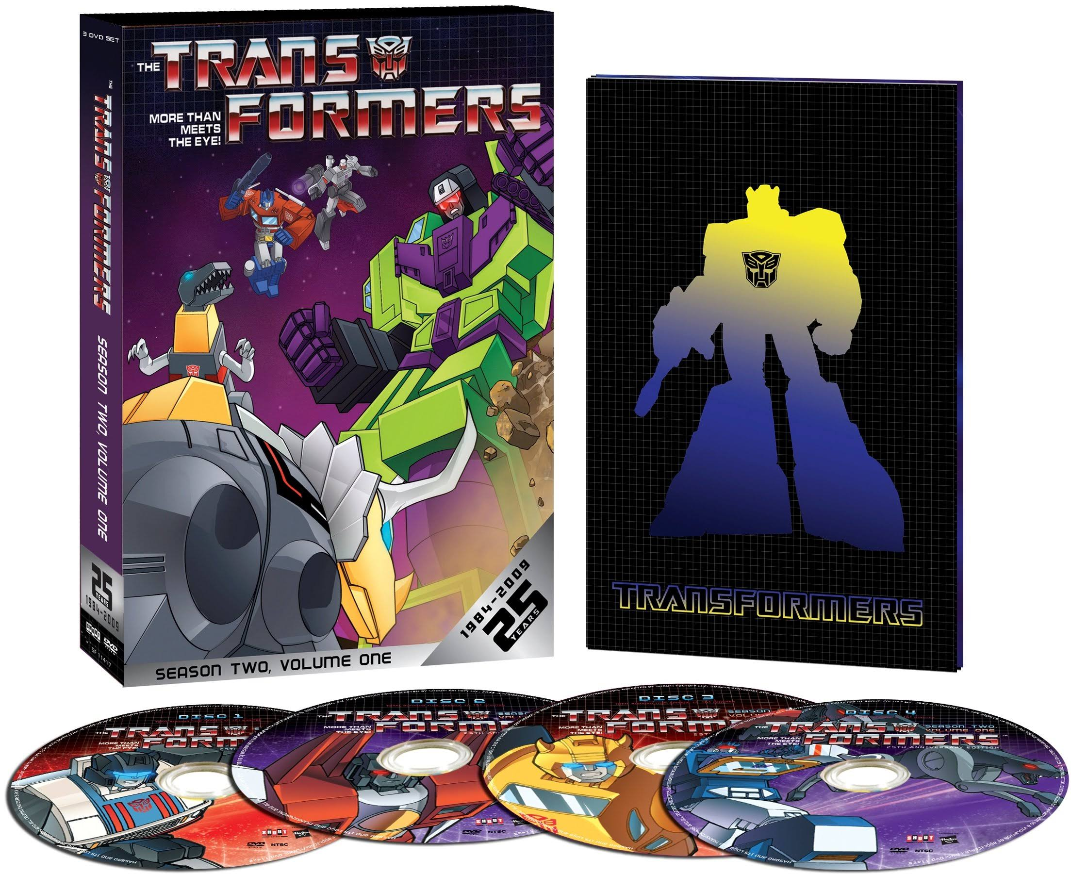 Transformers: Season 2 Volume 1 DVD