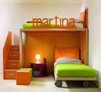Bedroom Designs: Amazine Childrens Enjoyed This Funky Italian Kids ... - Green Kids Bedroom Furniture Ideas