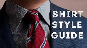 men u0027s dress shirt styles how to choose the perfect collar