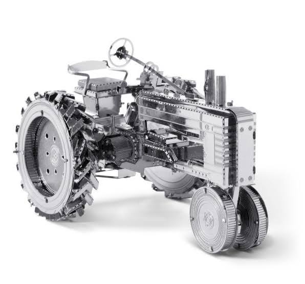 Fascinations Metal Earth 3D Metal Model Kit - Farm Tractor