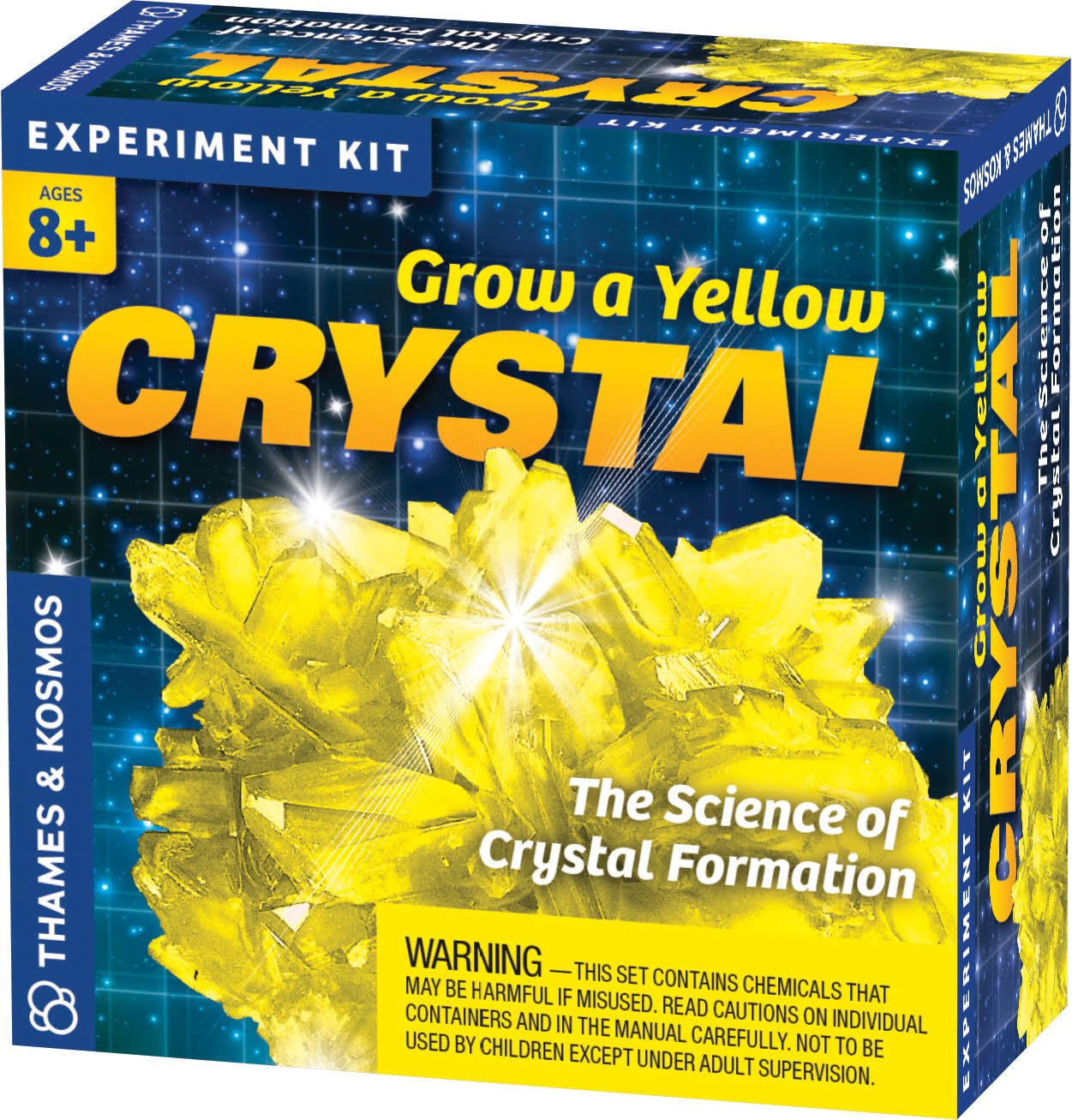 Thames & Kosmos 656065 Grow A Yellow Crystal
