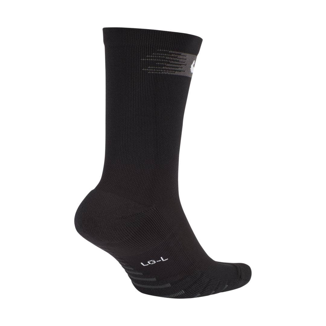 Nike Mens Squad Crew Socks - Medium, Black, Anthracite and White