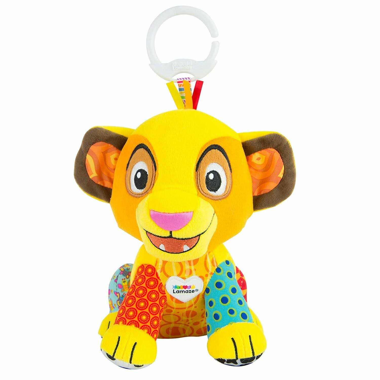 Simba Clip & Go Plush for Baby by Lamaze The Lion King - Official shopDisney