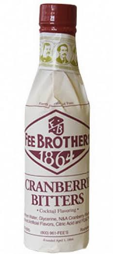 Fee Brothers Cocktail Flavouring - Cranberry Bitters