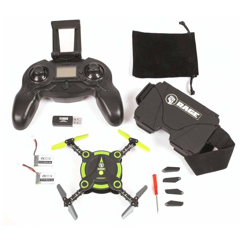 Rage RGR3050 Orbit FPV Pocket Drone RTF