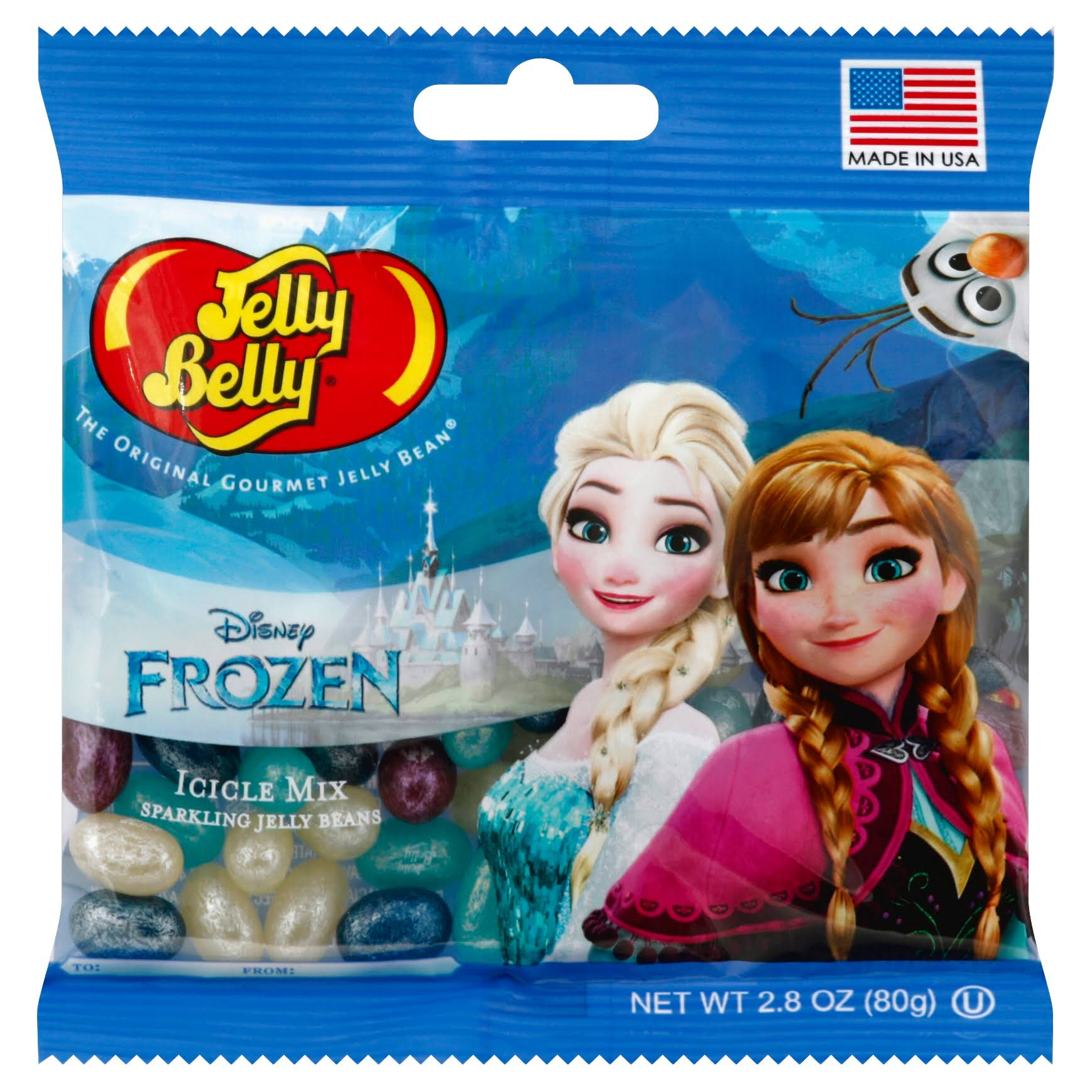 Jelly Belly Disney Frozen Icicle Mix - 80g