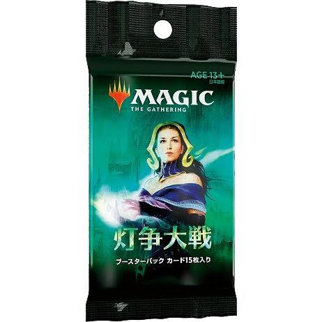 MTG War of the Spark Booster Trading Card Game
