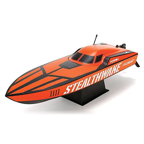 "Pro Boat Stealthwake Remote Control Boat - 23"" Deep-v, Brushed RTR"